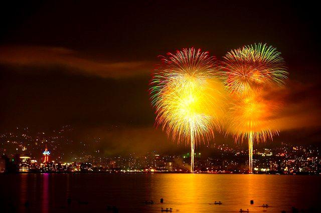 別府火の海祭り 花火大会