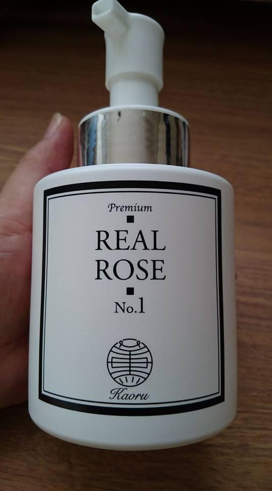 バラの香りで癒される