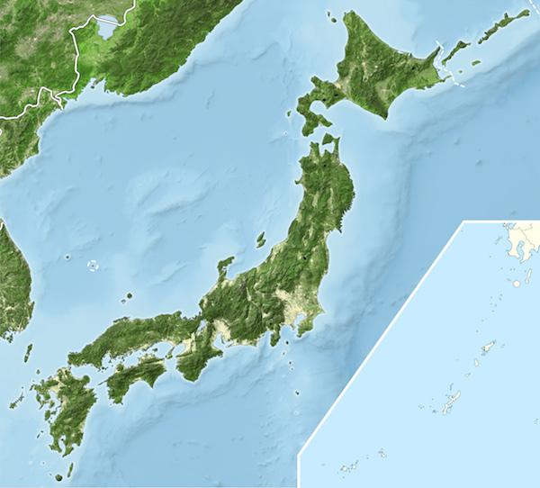 20170731 日本列島