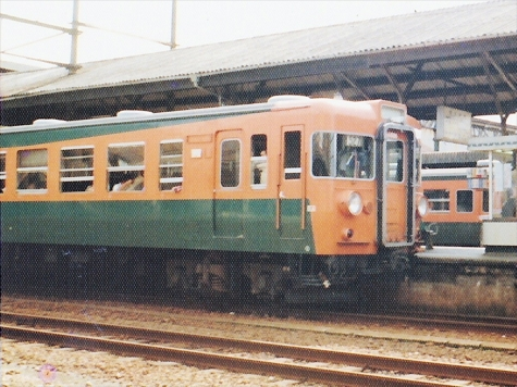 東海道本線 155系 電車【浜松駅】