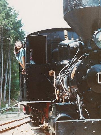 上松運輸営林署 No.1 ボールドウィン製 蒸気機関車【赤沢森林鉄道記念館】
