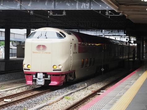 JR西日本 285系 電車 サンライズ瀬戸【岡山駅】