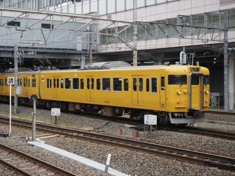 JR 山陽本線 113系 電車 B-13編成【岡山駅】
