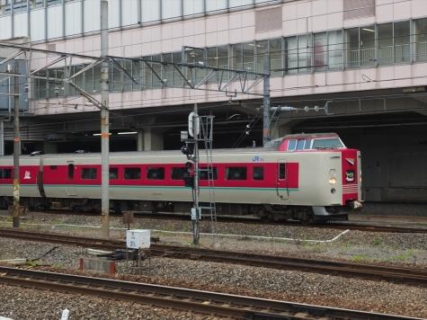 JR 伯備線 381系 特急 やくも1号【岡山駅】