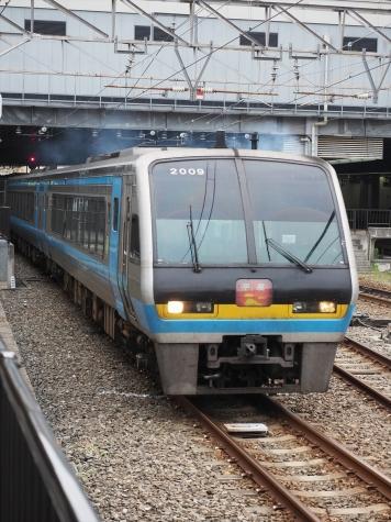 JR四国 2000系 気動車 特急 南風【岡山駅】
