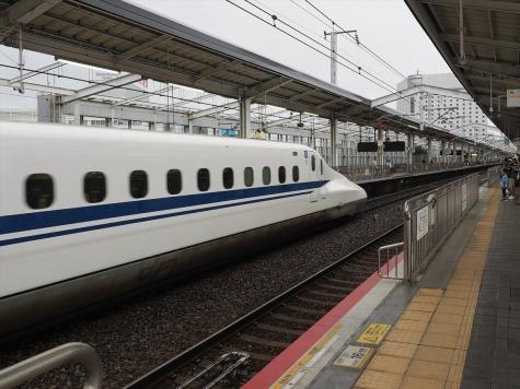 JR 山陽新幹線 N700A X70編成 のぞみ 17号【岡山駅】