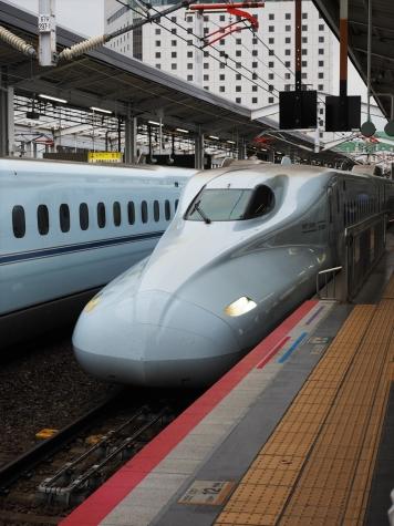 JR 九州新幹線 N700系 S13編成 みずほ604号【岡山駅】