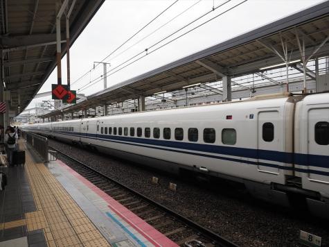 JR 山陽新幹線 700系 のぞみ159号【岡山駅】
