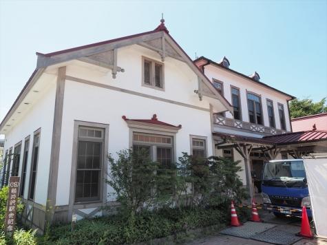 旧「(旧)軽井沢駅舎記念館」