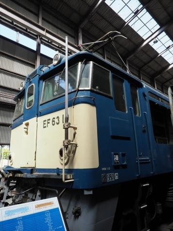 EF63 10 電気機関車【碓氷鉄道文化むら】