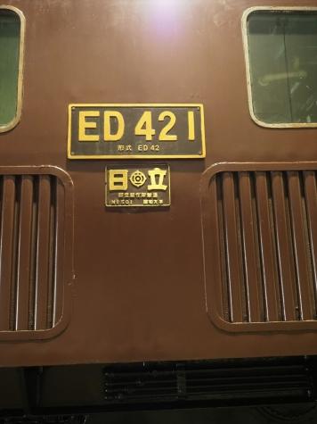 ED421 電気機関車【碓氷鉄道文化むら】