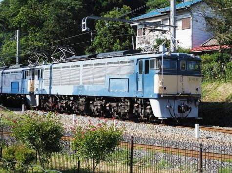EF63 電気機関車 重連運転【碓氷鉄道文化むら】