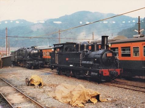 2100形2109 & 9600形49616 蒸気機関車