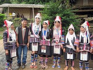 タイのアカ族