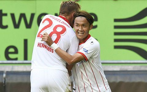 usami goal against st_Pauli
