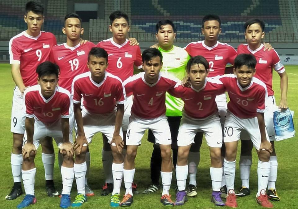 AFC U16 Championship 2018 Qualifiers Singapore 0 - 11 Japan