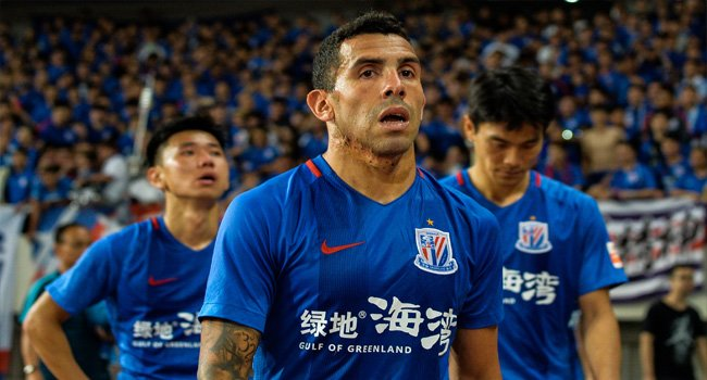 Carlos Tevez claiming Chinese football wont reach the same heights as the sports top nations even in 50 years