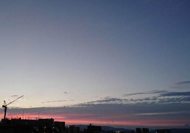 夕空170801