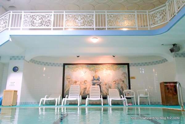 富士屋ホテルのプール