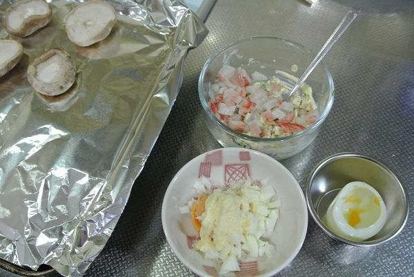 詰め物3品焼き物弁当1