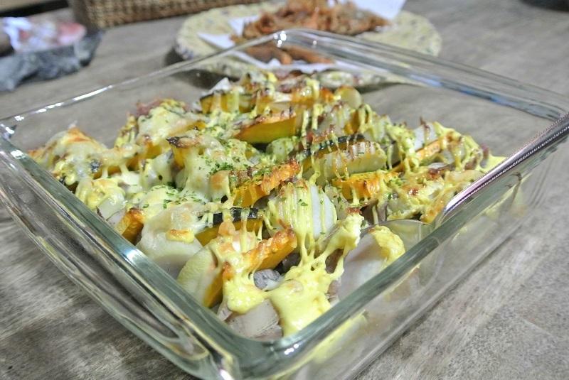 塩豚と根菜のグリル11