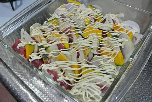 塩豚と根菜のグリル6