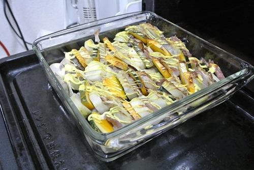 塩豚と根菜のグリル7
