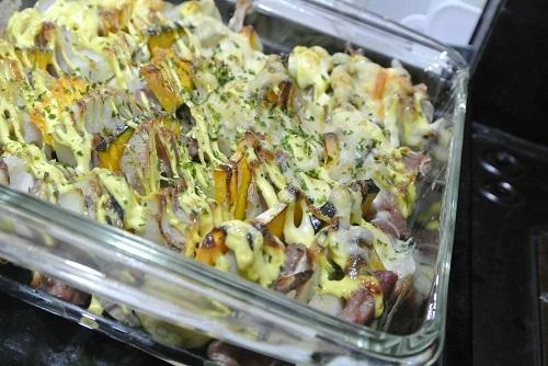 塩豚と根菜のグリル9