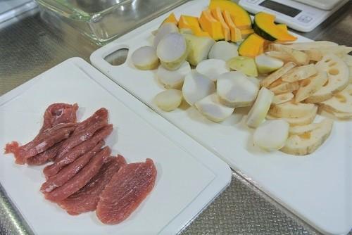 塩豚と根菜のグリル3 (2)