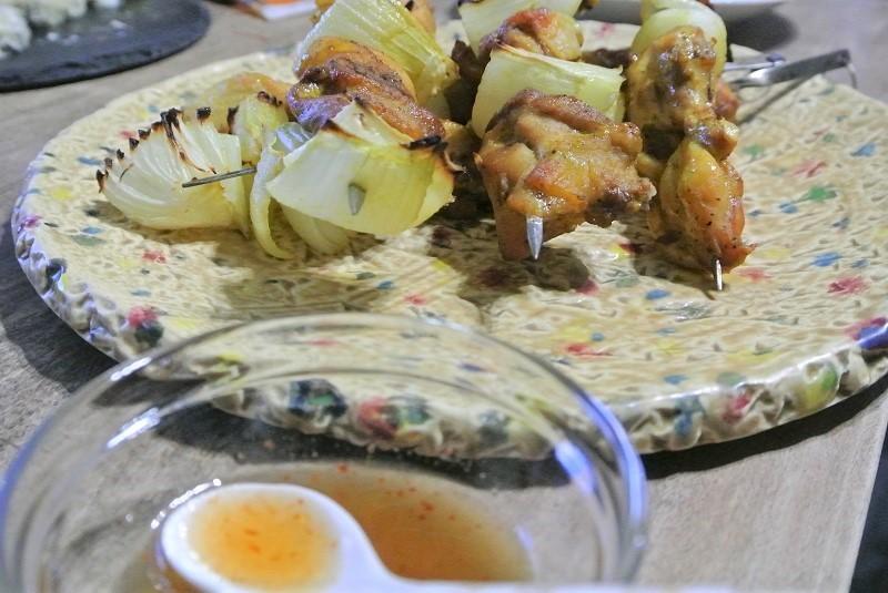 タイ式焼き鳥8 (2)