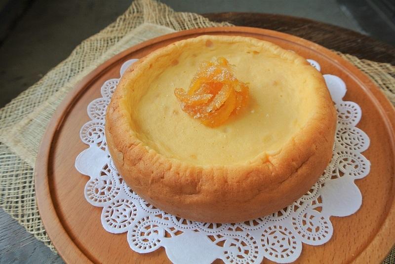 柚子香るチーズケーキ10