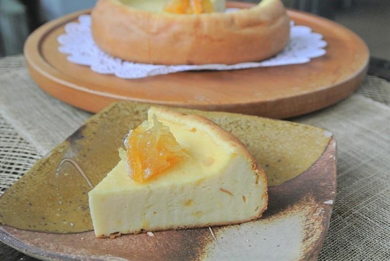 柚子香るチーズケーキ8 (2)