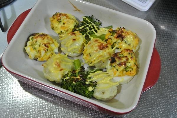 里芋とレンコンのシュウマイ弁当4
