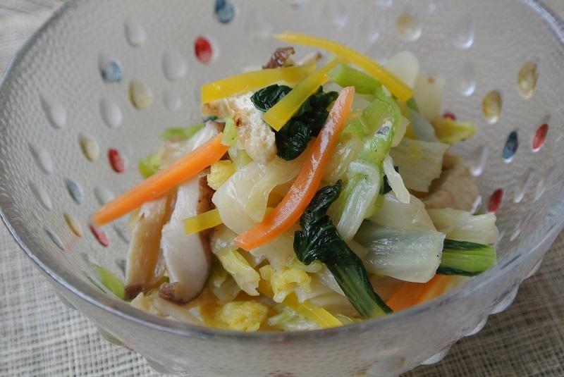 白菜の焼き浸し1