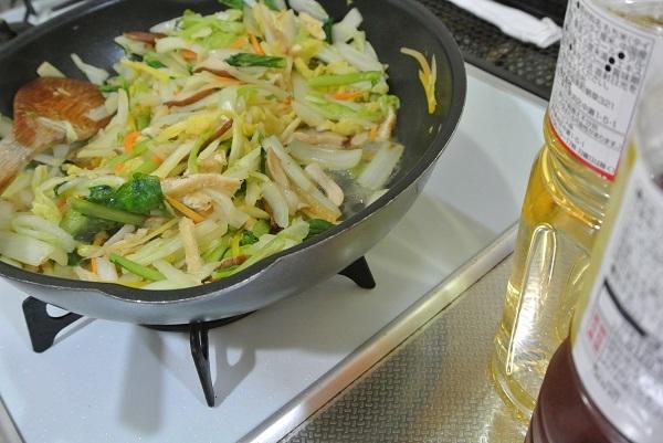 白菜の焼き浸し9