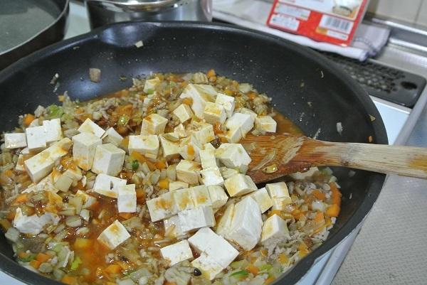 根菜タップリ麻婆豆腐7