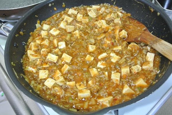 根菜タップリ麻婆豆腐8