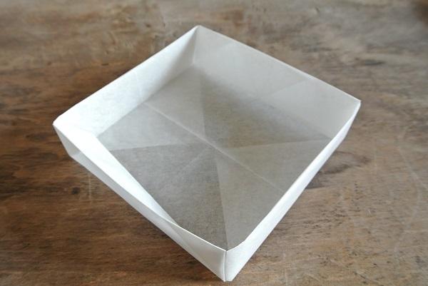 薄箱の折り方14