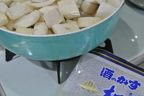 干しカブと塩豚の煮物6