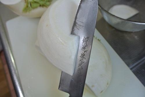 干しカブと塩豚の煮物9