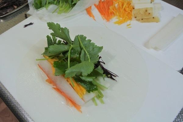 野菜の生春巻き4