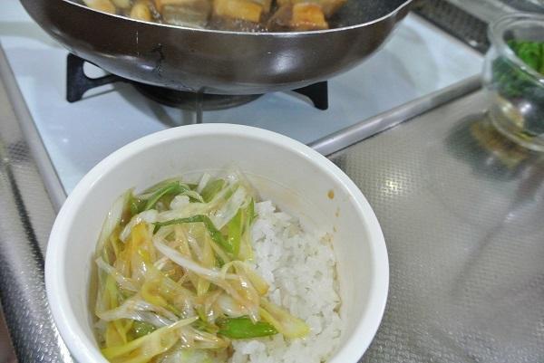 ブリの照り焼き丼8