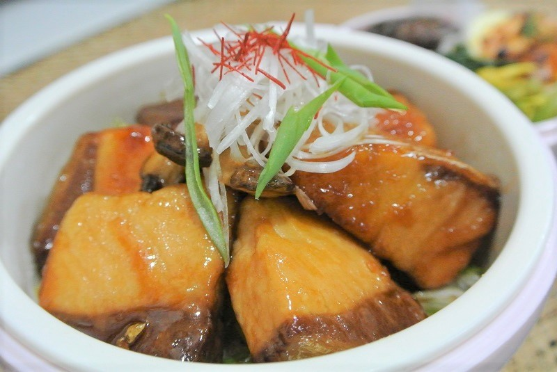 ブリの照り焼き丼11 (2)
