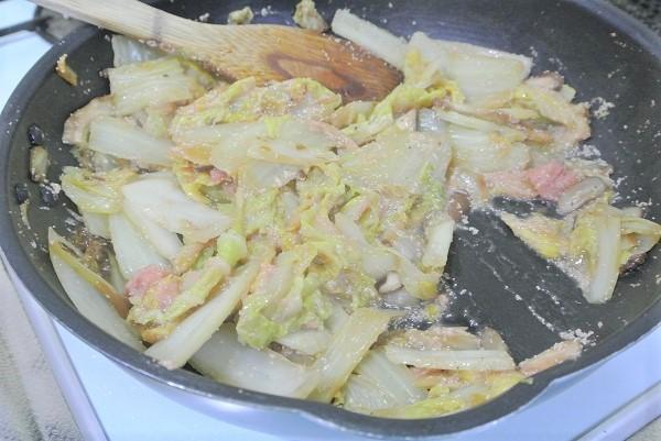 白菜とタラコの旨煮5 (2)