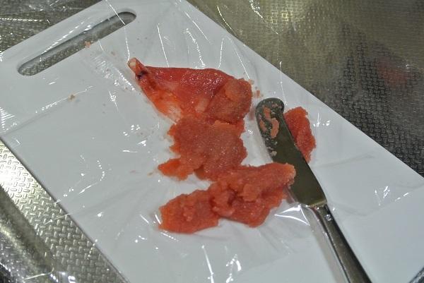 白菜とタラコの旨煮1