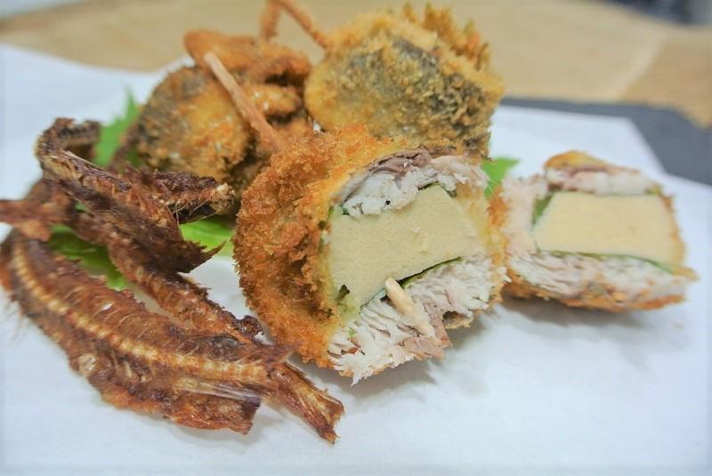うるめいわしと高野豆腐のフライ3 (2)