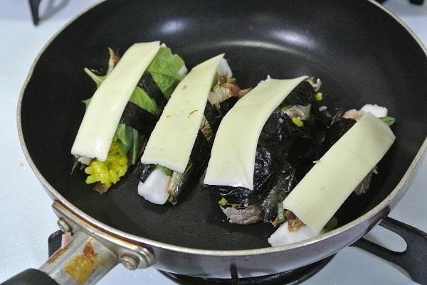 真いわしの丸干しチーズ焼き7