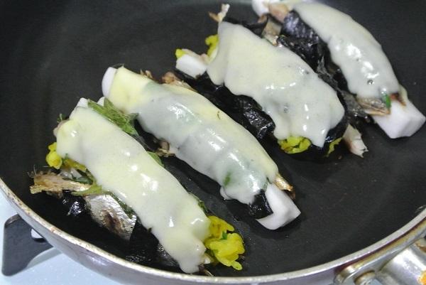 真いわしの丸干しチーズ焼き9