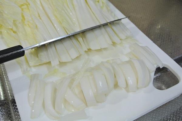白菜と三つ葉の炒り煮2