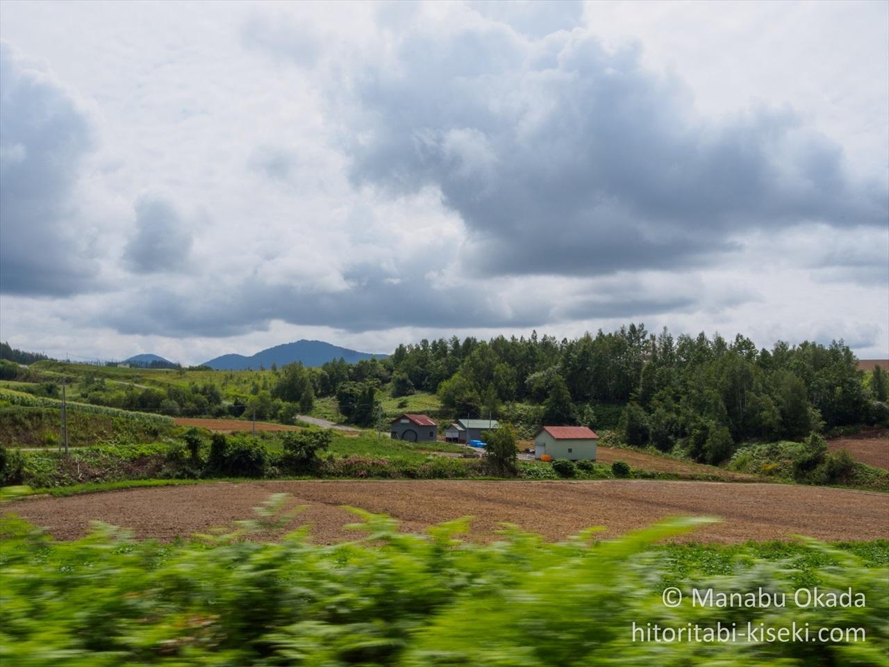 牧歌的な北海道の風景1
